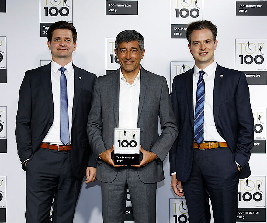 BETEK receives TOP 100 award